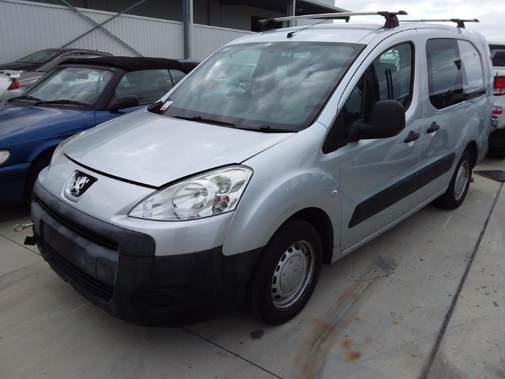 2011(2012) Peugeot Partner LWB Turbo Diesel Van 98,959km