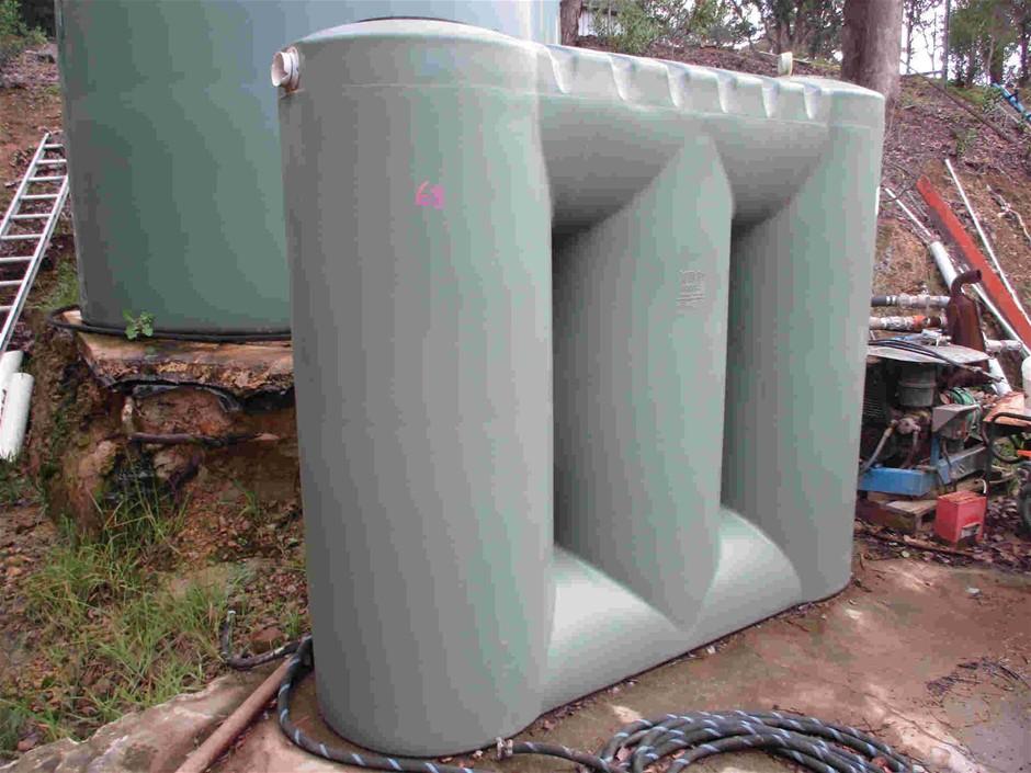 3,000 Litre Slimling PVC Tank