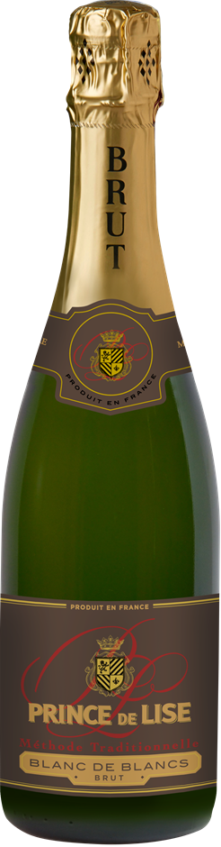 Prince De Lise Blanc De Blancs Brut NV (6 x 750mL) France