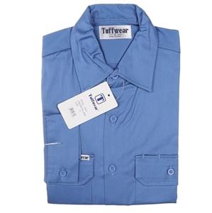 3 x TUFFWEAR Cotton Drill Shirts, Size L