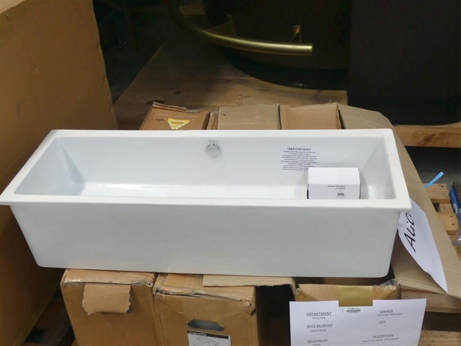 Coroma Quinn 875 Ceramic Under Counter Vanity Basin