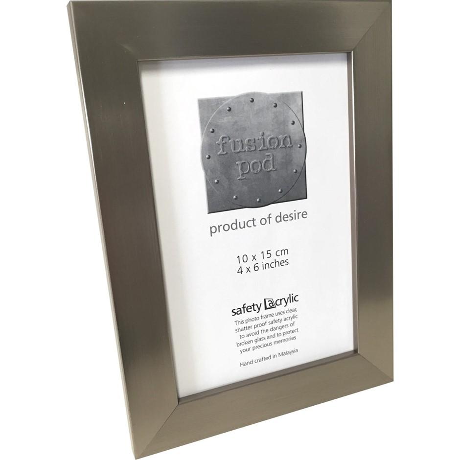 6 x POD 4x6 Epping Dark Silver Frames