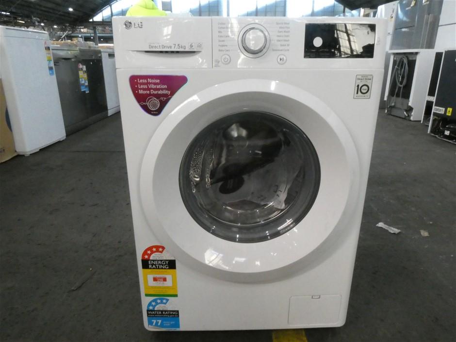 LG 7.5kg Front Loader Washing Machine (WD1275TC5W)