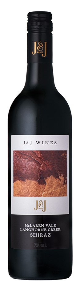 J & J Wines McLaren Vale and Langhorne Creek Shiraz 2016 (12 x 750mL) SA