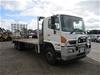 2014 Hino 500 6 x 4 Beavertail Truck