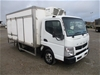 2013 Mitsubishi Canter Duonic 515 4 x 2 Refrigerated Body Truck