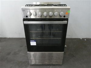 Chef 54cm NG Gas Upright Cooker (CFG504S
