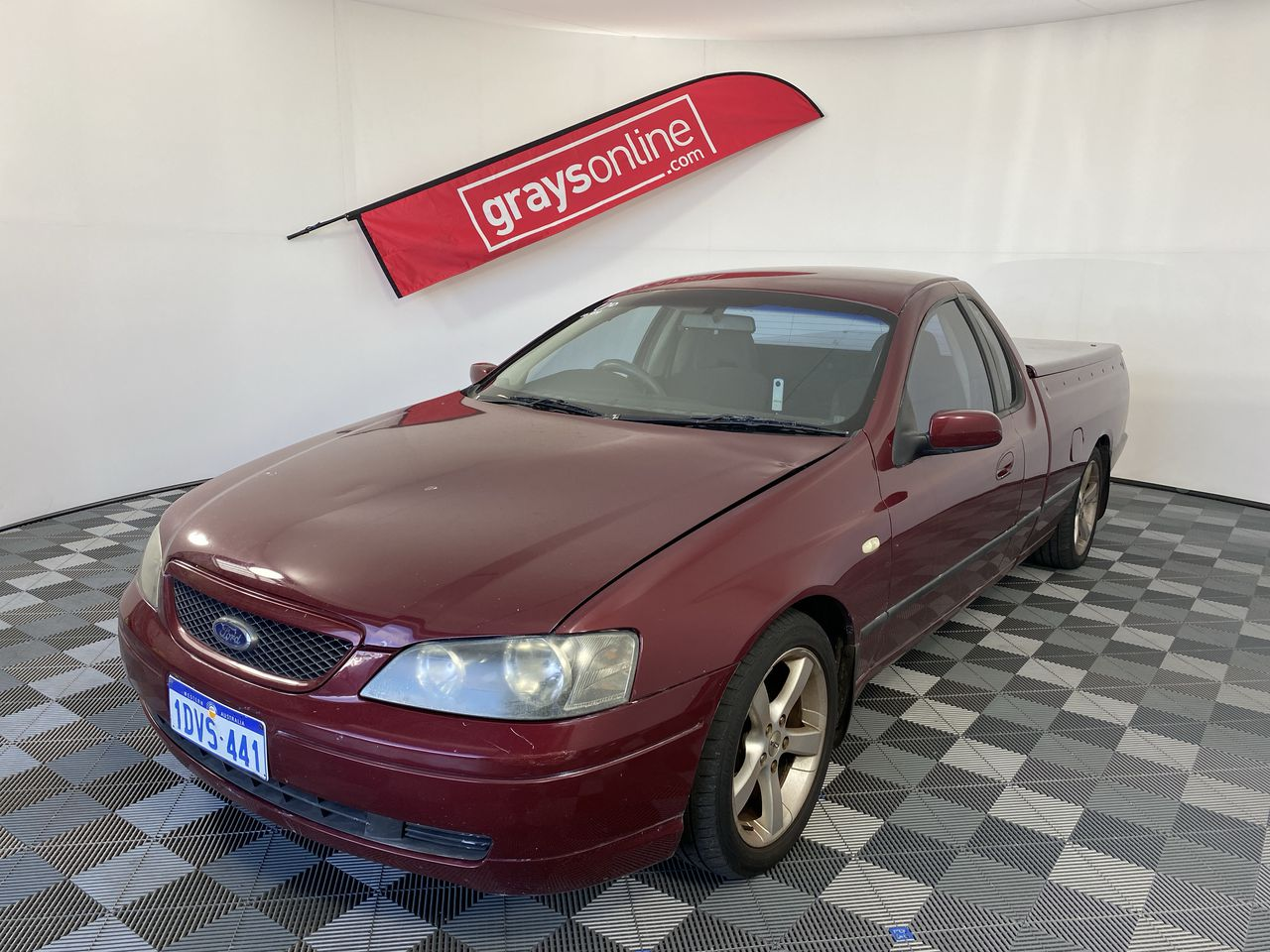 2002 Ford Falcon XR6 BA Automatic Ute(WOVR-Inspected)