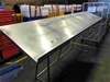 Stainless Steel Elevated Work Stand