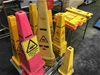 Qty of Cleaners Bollards & Signs