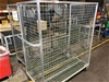 Qty 2x Cage Trolleys with 2x Fans