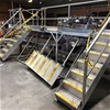 Stainless Steel 3 Stair Walk Over