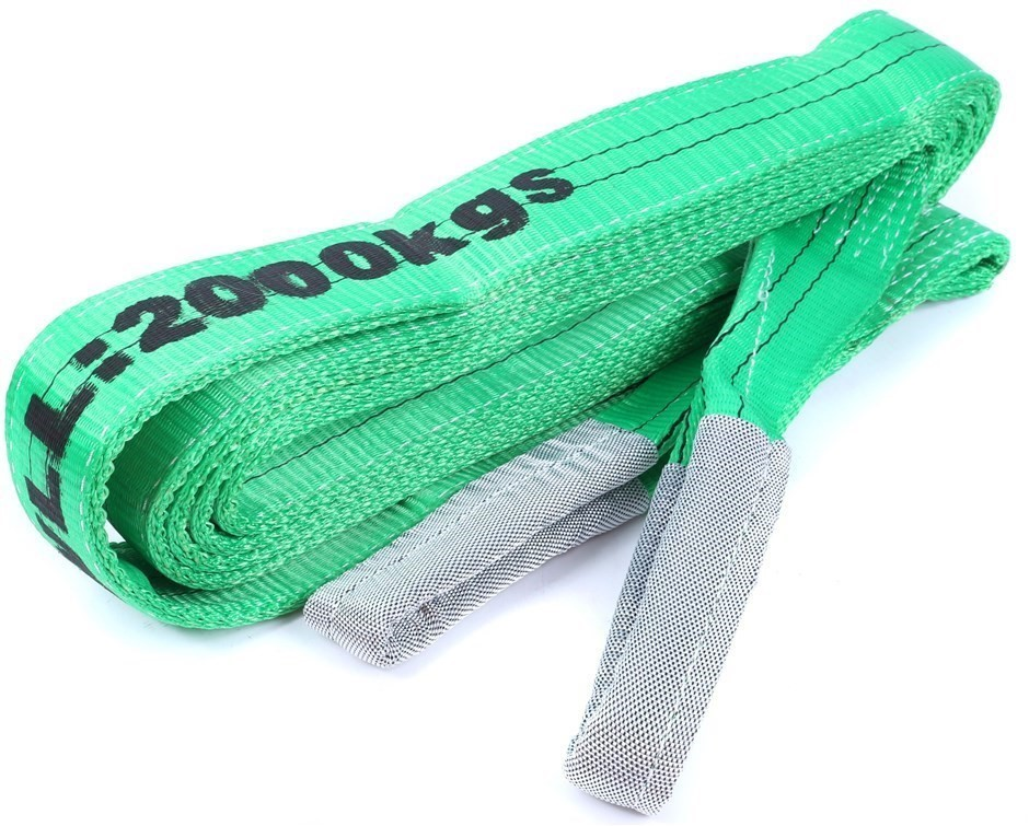 Flat Webb Lifting Sling WLL 2,000kg x 6M (With Test Cert). Buyers Note - Di
