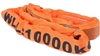 2 x Round Lifting Slings, WLL 10,000kg x 1M (With Test Cert) Buyers Note -