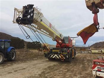 2008 Tadano GR700EXL 70 Tonne Rough Terrain Mobile Crane