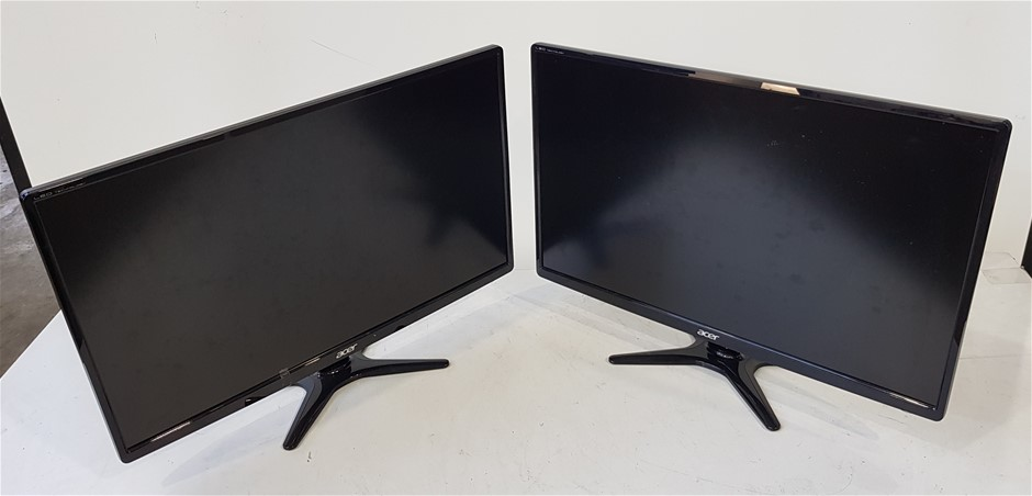 Qty 2 x Acer G276HL 27 Inch Full HD Widescreen LED Monitor