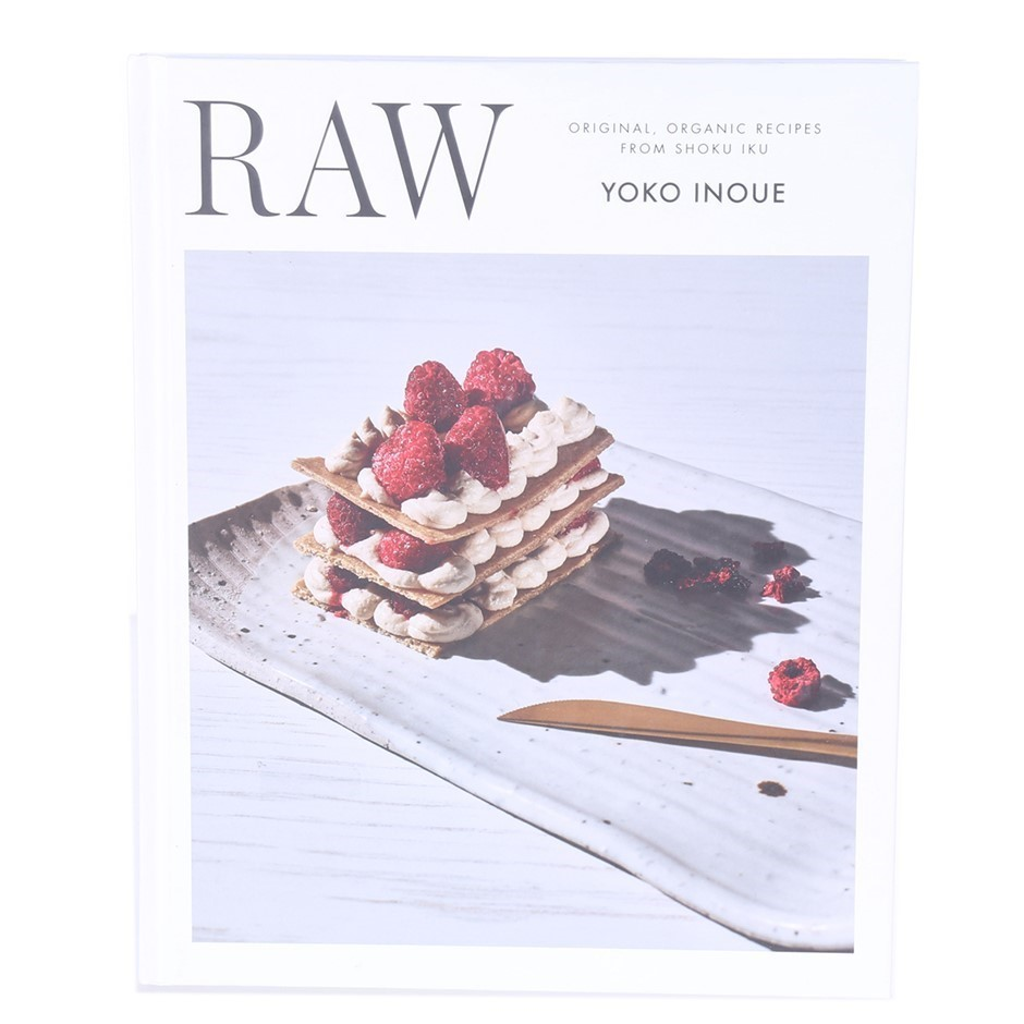 RAW Organic Recipes from SHOKU IKU 140pages. Buyers Note - Discount Freight