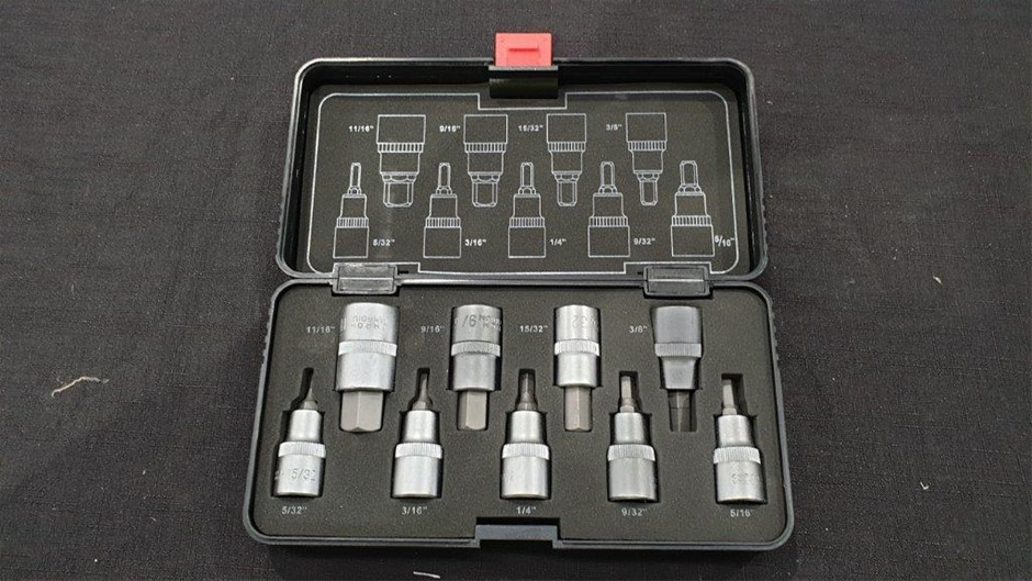 Hex Bit Socket Set