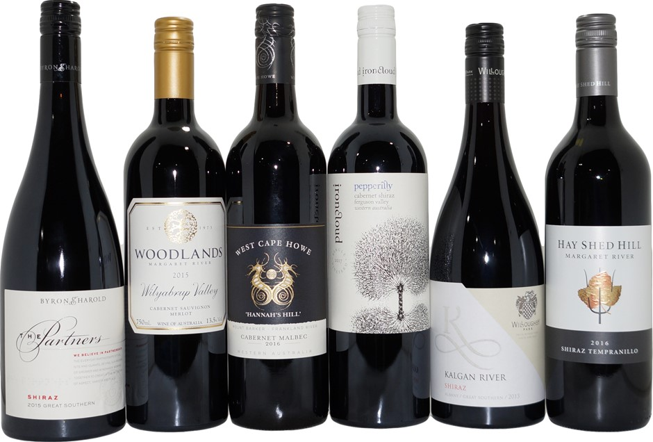 West Australian Red Wine Mixed Pack (6x 750mL)