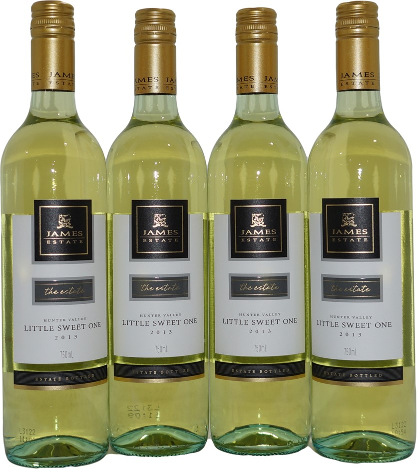 James Estate Hunter Valley Little Sweet One Semillon 2013 (4x 750mL), NSW