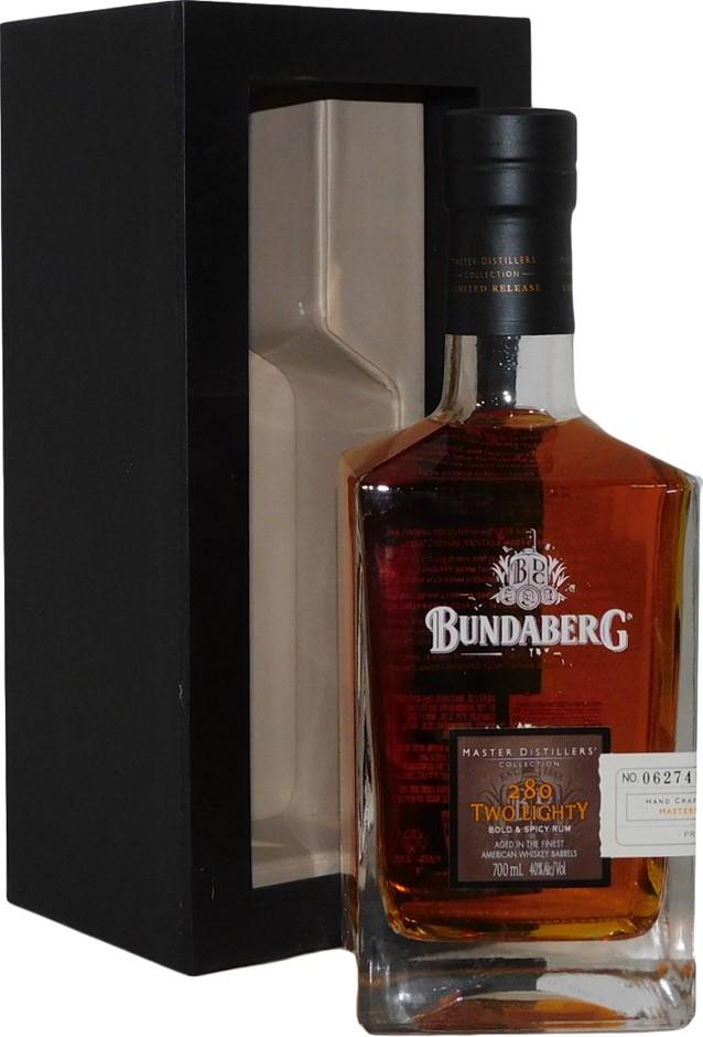 Bundaberg MDC 280 Bold & Spicy Rum 2013 (1x 700mL Bottle No. 39152)