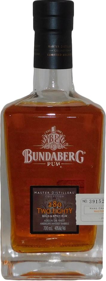 Bundaberg MDC 280 Bold & Spicy Rum 2013 (1x 700mL Bottle No. 06274), AUS