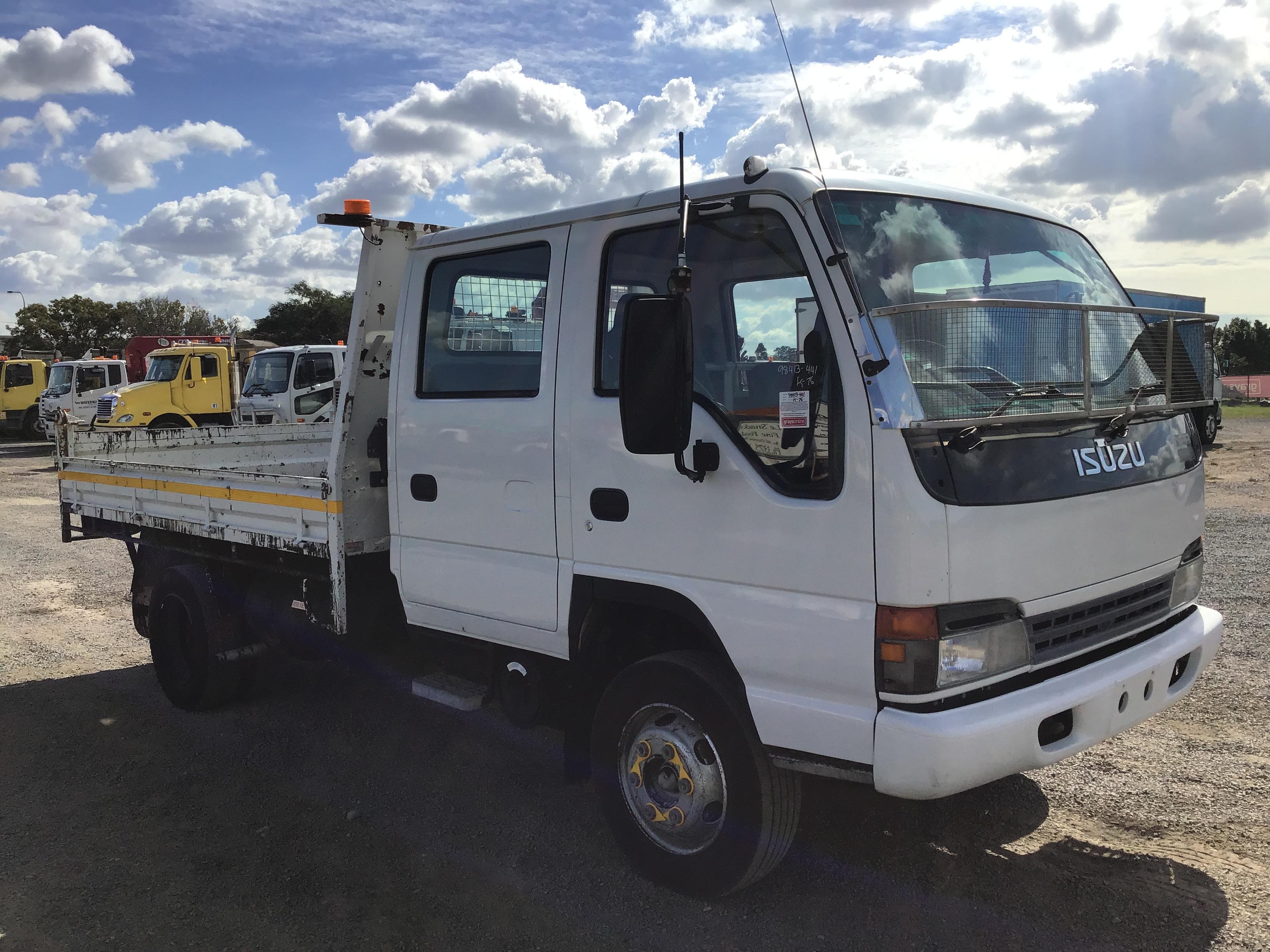 2003 Isuzu NPR400 Dual Cab Tipper Truck