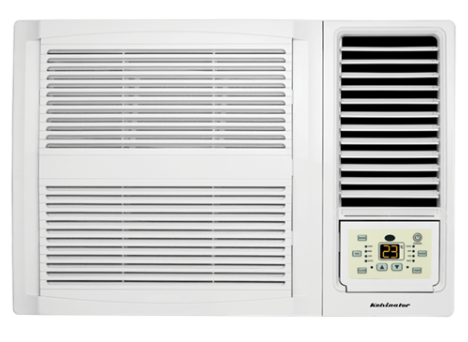 Kelvinator Window Wall Reverse Cycle Air Conditioner 2.7kW (KWH26HRE)