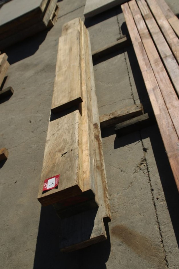 5x Assorted Timber Boards