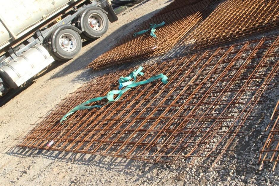 6x Steel Concrete Mesh Sheets