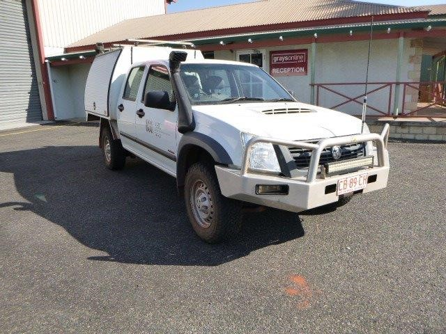 Holden Rodeo RA 4WD Manual Dual Cab Ute