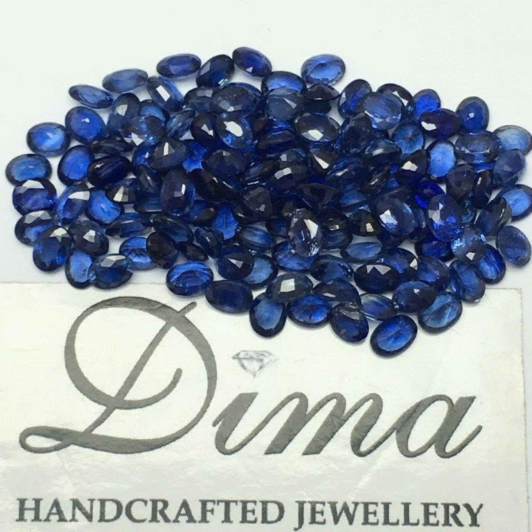Parcel of Loose Blue Sapphire, 20.27ct in Total