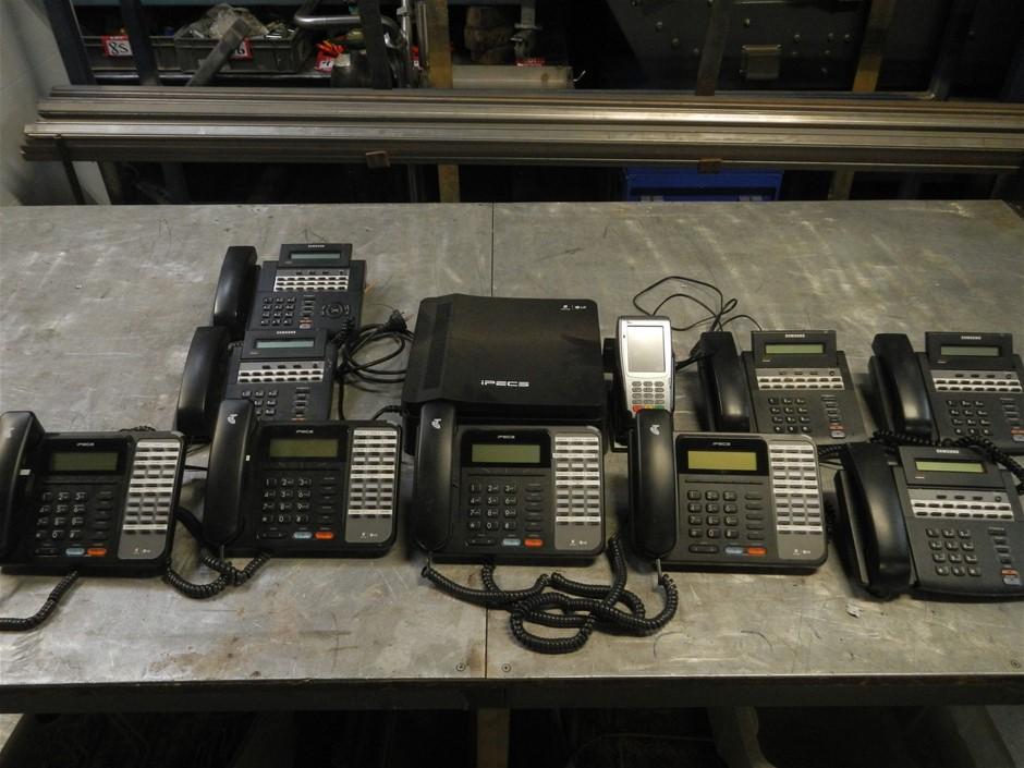 LG Ericsson IPECS and Samsung phone system.