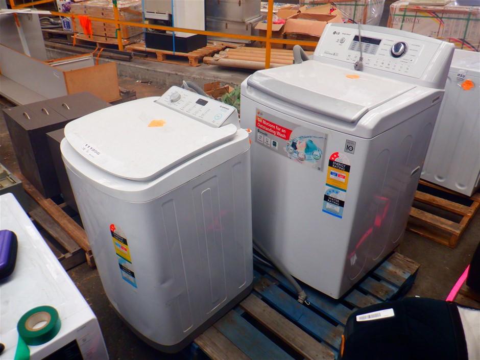 Qty Ex-Rental Faulty Washing Machines & Dishwasher