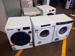 Qty Ex-Rental Faulty Dryers & Dishwasher