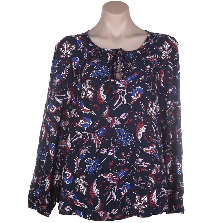 JAG Women`s Deana Dobby Blouse, Size XS, 100% Viscose, Militsa Print. Buyer