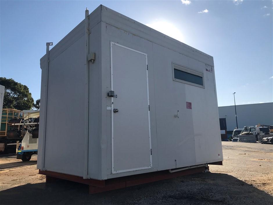 3.6m x 2.4m Transportable Toilet block