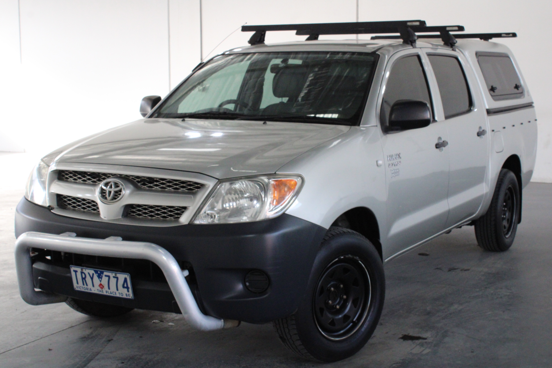 2005 Toyota Hilux Workmate TGN16R Manual Dual Cab