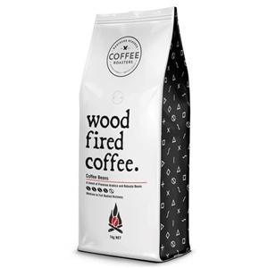 Wood Fired Coffee Beans (1x 1kg Bag)