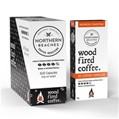 Wood Fired Coffee Capsules (Nespresso Capatible) (1x 60 Capsule Carton)