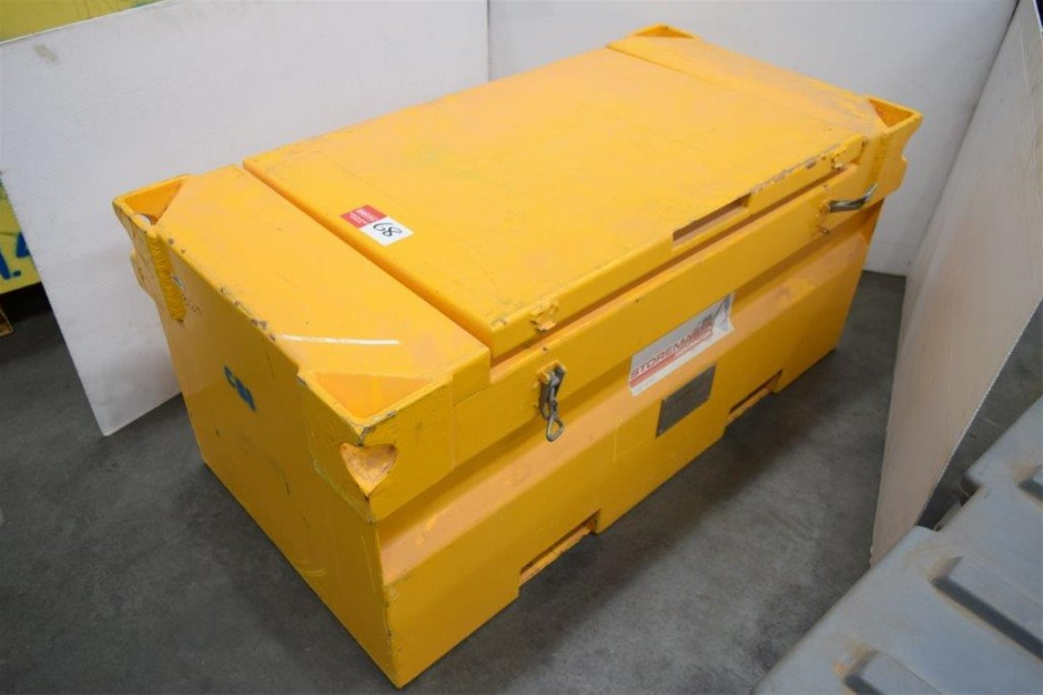 """Storemaster"" Contractor Steel Framed Lockable Site Tool Box"