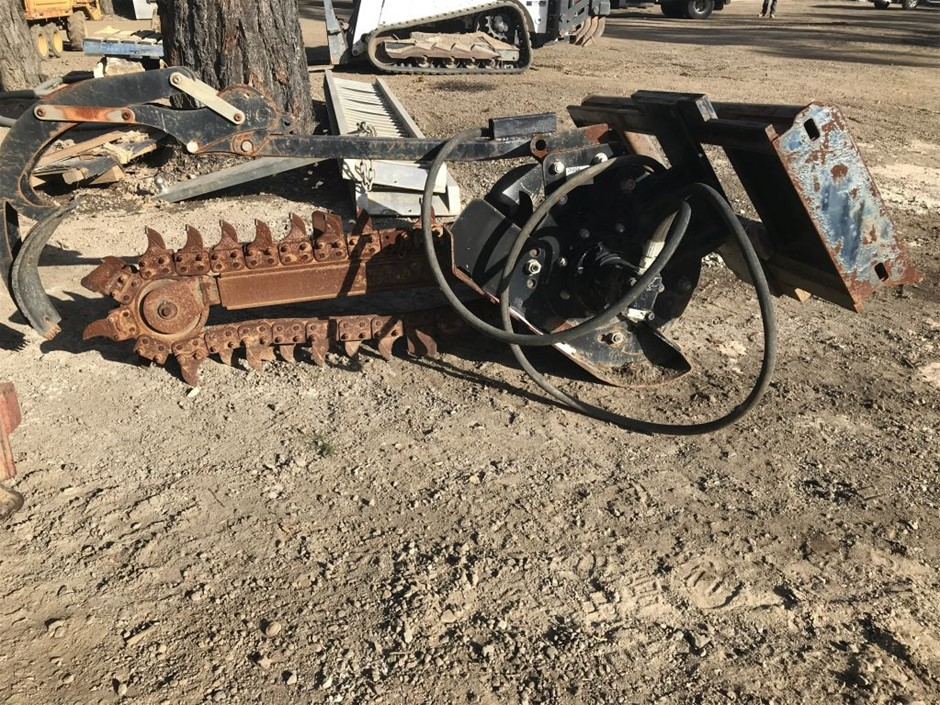 Digger Trencher Attachment, Model TR-000100