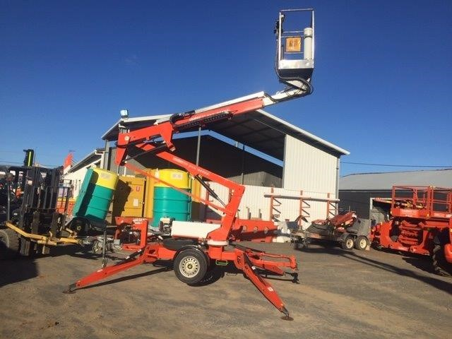 Trailer Mounted Boom Lift 10.2M - 2010 NIFTY 120TPE