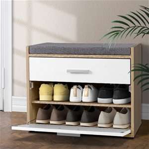 Artiss Shoe Cabinet Bench Shoes Storage