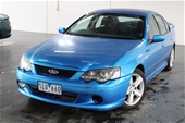 Unreserved 2003 Ford Falcon XR6 BA