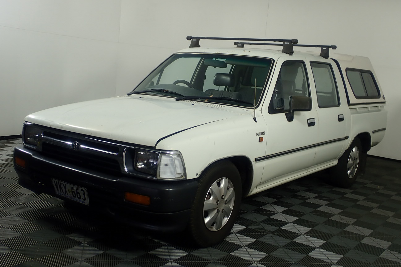 1993 Toyota Hilux DBLE CAB DELUXE 4X2 Automatic Dual Cab