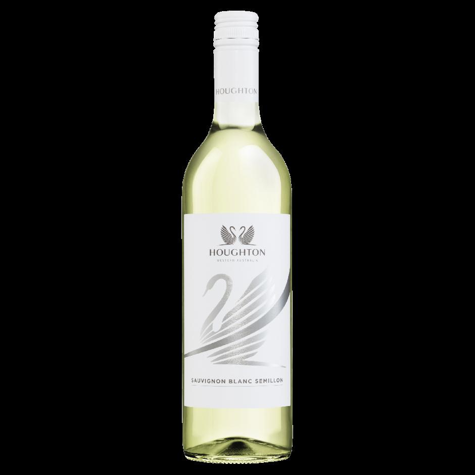 Houghton Stripe Sauvignon Blanc Semillon 2019 (6 x 750mL), WA.