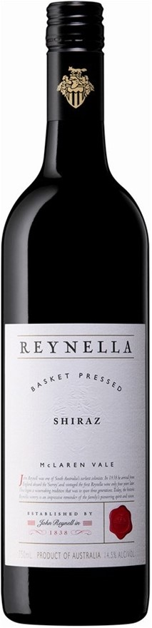 Reynella Basket Pressed Shiraz 2017 (6 x 750mL), McLaren Vale. SA.