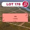 Lot  178 - Land Size:  1.2ha Location: Valentine Falls Kununurra, WA