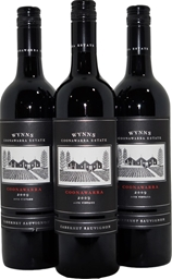 Wynns Black Label Cabernet Sauvignon 2009 (3x 750mL), SA, Screwcap.